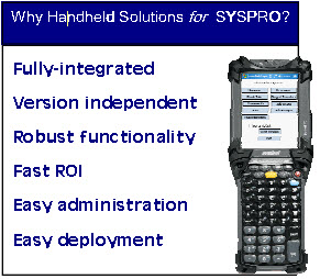 cadacus handheld solutions for syspro
