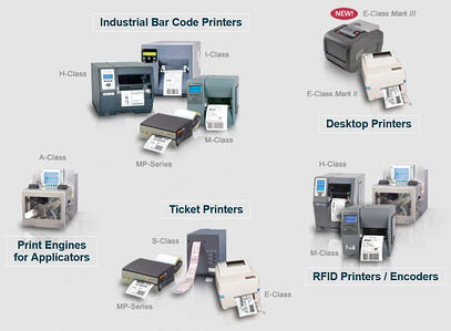 barcode stationary label printers