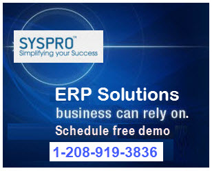 erp and lean syspro