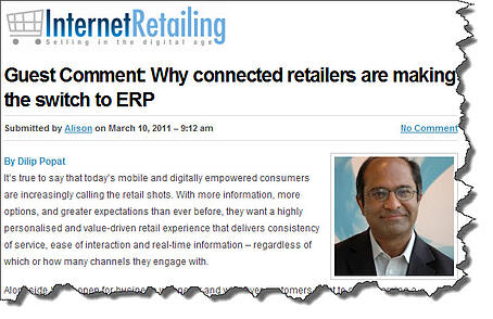 ERP software for retailers