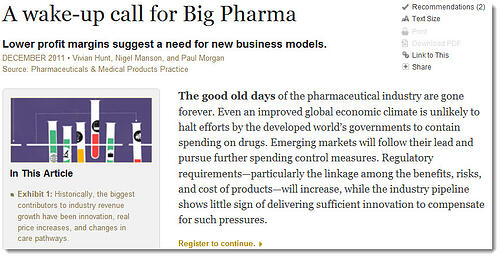 big-pharma wakeup call for erp
