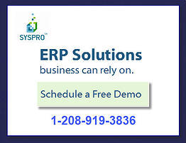 schedule syspro demo