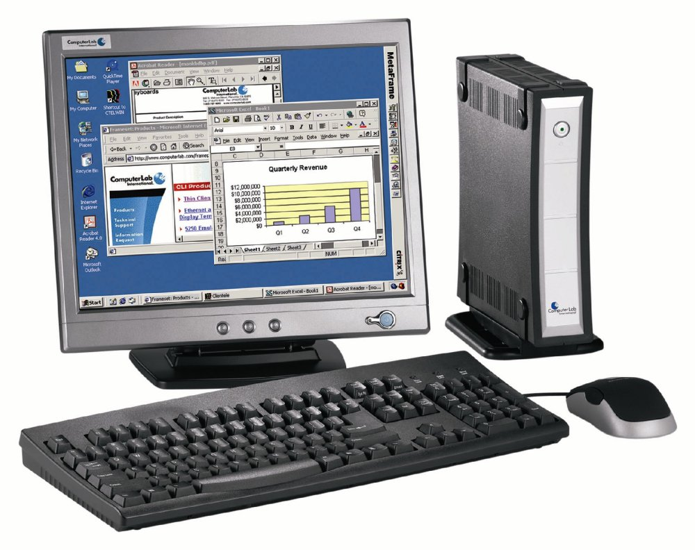 erp thin computing leaning tco