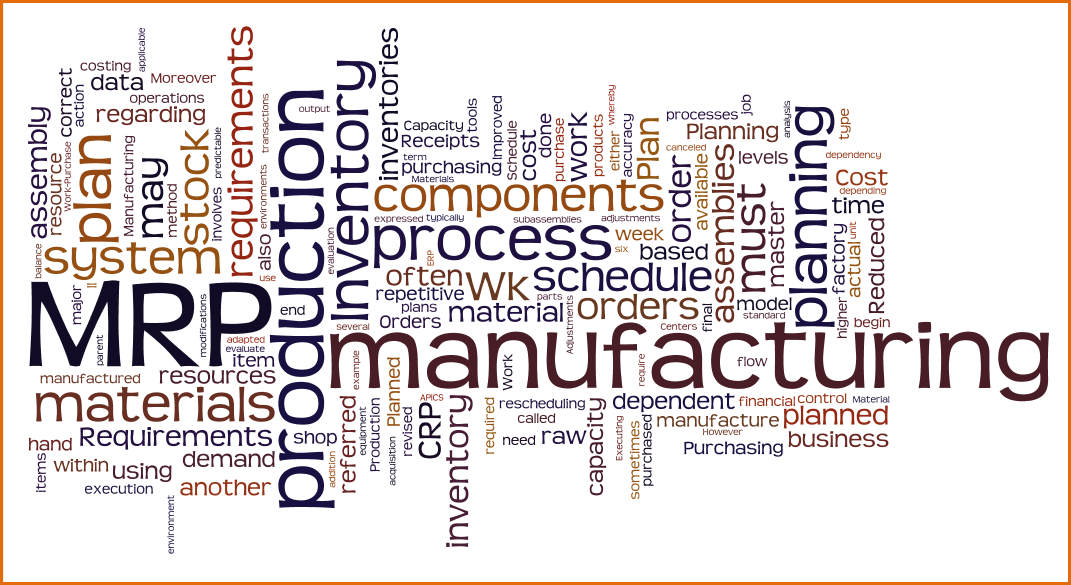 introduction to manufacturing inventory requirements planning overview